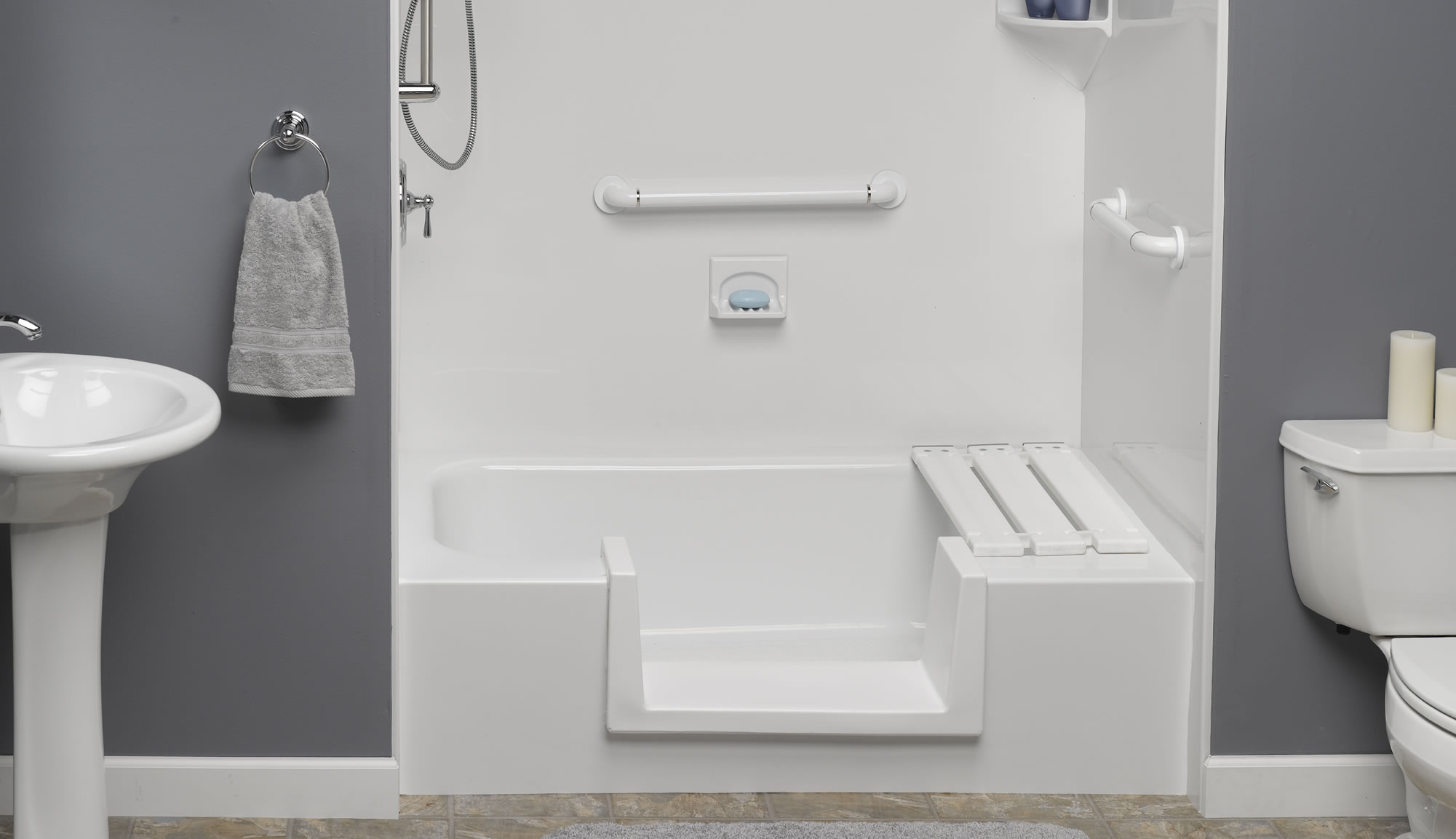 Step through Inserts Northern Virginia. Accessibility Products Waldorf   Bathroom Remodel   See Thru