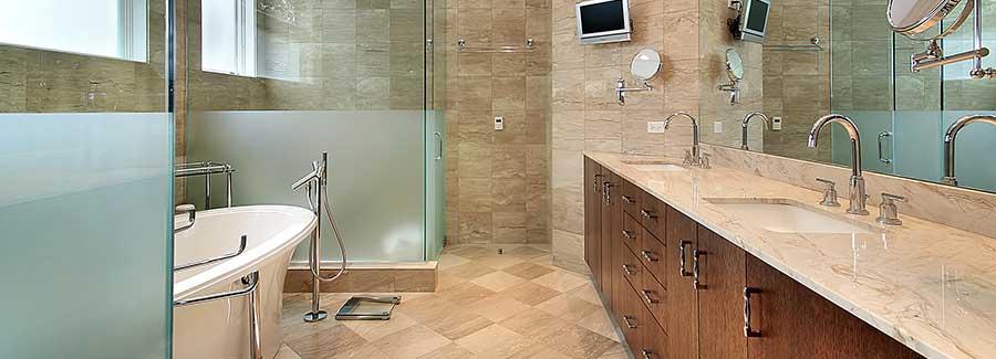 Bathroom Remodel Waldorf SeeThru Windows Doors - Bathroom remodeling bowie md